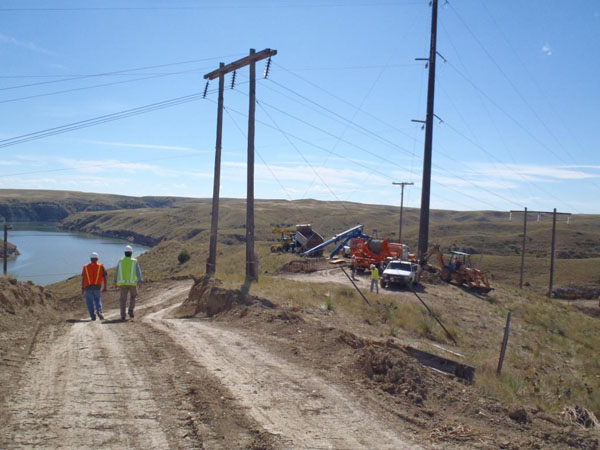 Great Falls Transmission Line Replacement Project
